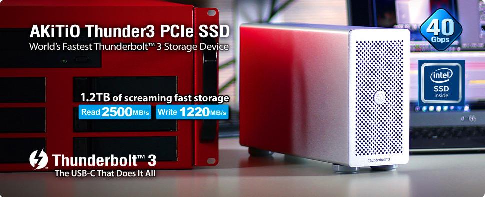 雷霆 3 外接 PCIe SSD