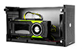 icon akitio node nvidia quadro gpu