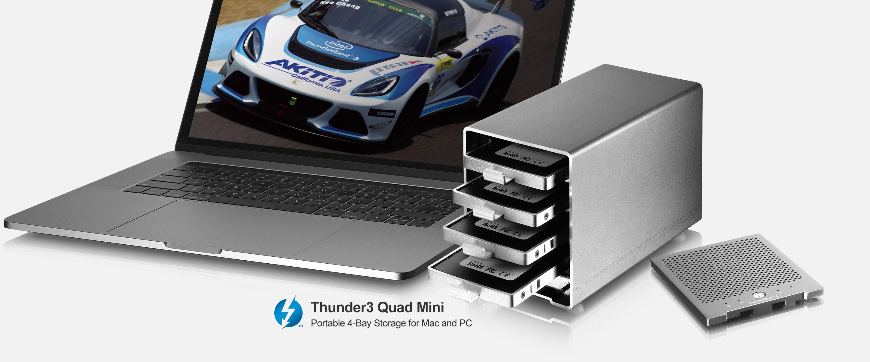 AKiTiO Thunder3 Quad Mini