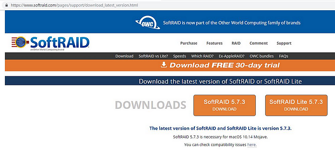 softraid install 01