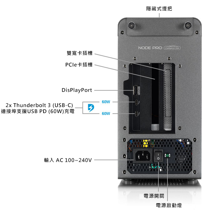 akitio node pro detailed view 1