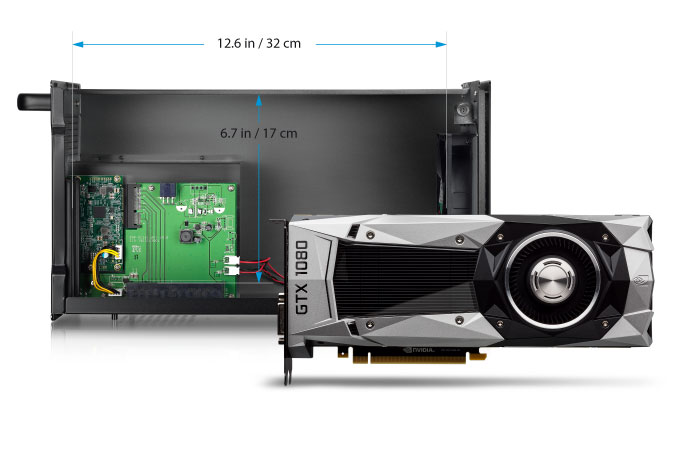 akitio node gpu card